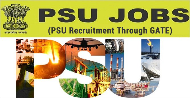 PSUs Recruiting through GATE 2018 Exam