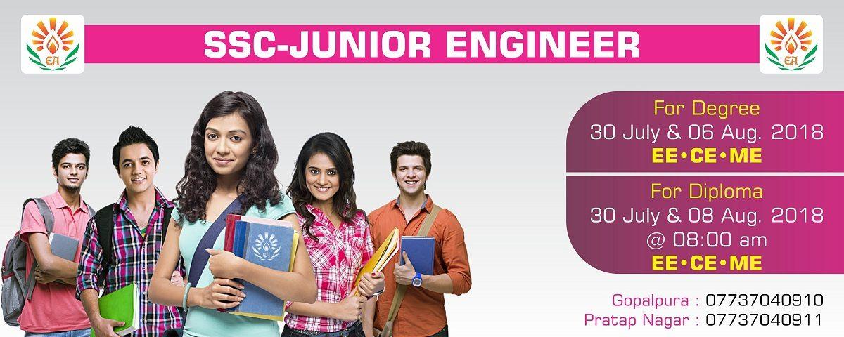 Best SSC JE (Junior Engineer) Coaching in Jaipur