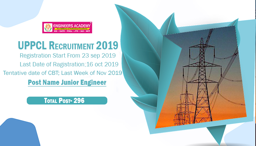 UPPCL JE Recruitment 2019 Highlights