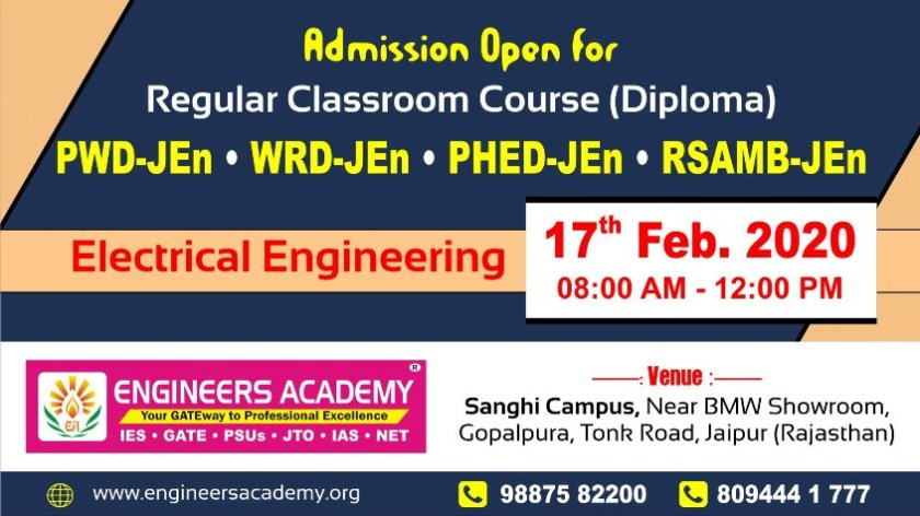Get Position in 1056 Posts of RSMSSB JEn – Join India Best Technical Coaching