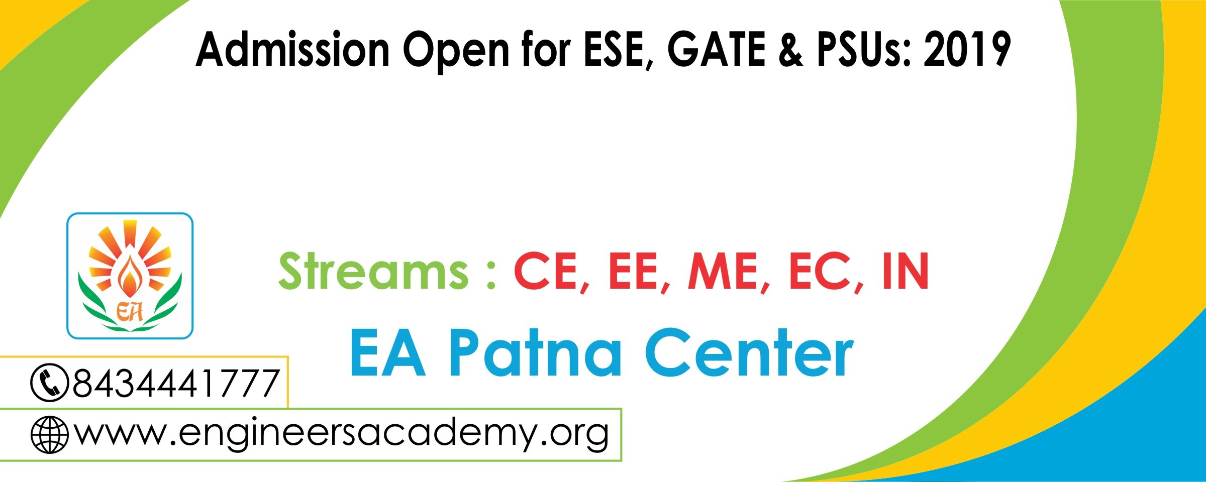GATE & ESE 2019 Coaching in Patna