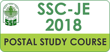 SSC JE 2018 Pre Study Material Online