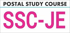 SSC JE Postal Study Course